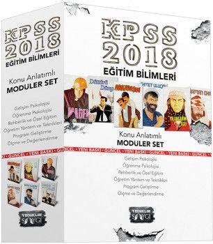 Yediiklim 2018 KPSS Eğitim Bilimleri Konu Anlatımlı Modüler Set 6 Kitap Saygı Serisi