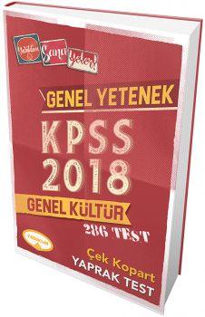Yediiklim 2018 KPSS Genel Yetenek Genel Kültür Çek Kopart Yaprak Test