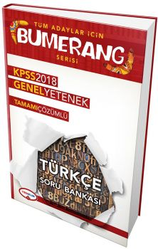 Yediiklim 2018 KPSS Tüm Adaylar için Bumerang Genel Yetenek Türkçe Tamamı Çözümlü Soru Bankası