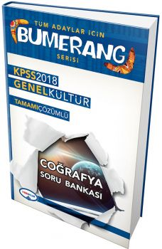 Yediiklim 2018 KPSS Tüm Adaylar için Bumerang Genel Kültür Coğrafya Tamamı Çözümlü Soru Bankası
