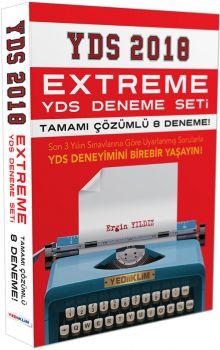 Yediiklim 2018 YDS Extreme Tamamı Çözümlü 8 Deneme Seti