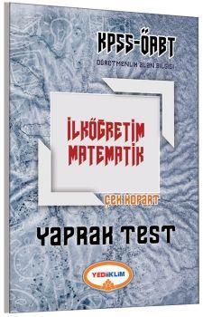 Yediiklim ÖABT İlköğretim Matematik Çek Kopart Yaprak Test