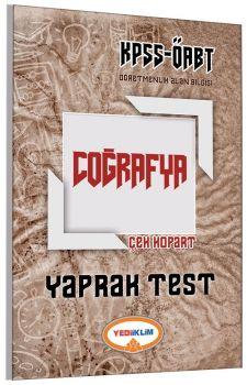 Yediiklim ÖABT Coğrafya Çek Kopart Yaprak Test