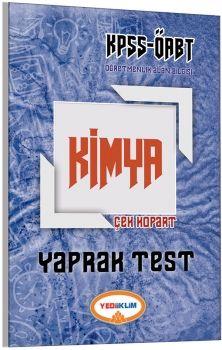 Yediiklim ÖABT Kimya Öğretmenliği Çek Kopart Yaprak Test