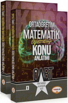 Yediiklim ÖABT Ortaöğretim Matematik Öğretmenliği Konu Anlatımlı 2 Kitap