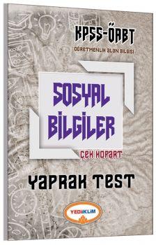 Yediiklim ÖABT Sosyal Bilgiler Öğretmenliği Çek Kopart Yaprak Test