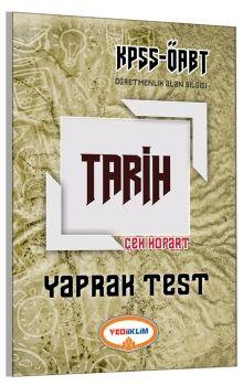 Yediiklim ÖABT Tarih Çek Kopart Yaprak Test