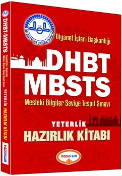 Yediiklim DHBT Diyanet İşleri Başkanlığı MBSTS Yeterlilik Hazırlık Kitabı