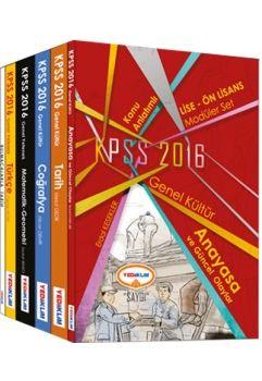 Yediiklim KPSS 2016 Lise Ön Lisans Konu Anlatımlı Modüler Set Saygı Serisi