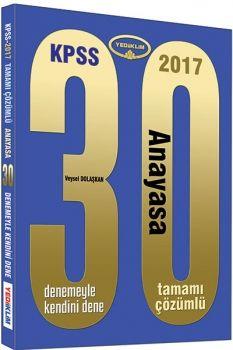 Yediiklim KPSS 2017 Anayasa Tamamı Çözümlü 30 Deneme
