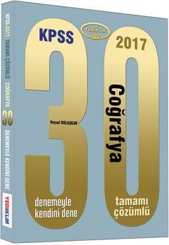 Yediiklim KPSS 2017 Coğrafya Tamamı Çözümlü 30 Deneme