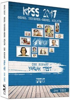 Yediiklim KPSS 2017 Genel Yetenek Genel Kültür Çek Kopart Yaprak Test