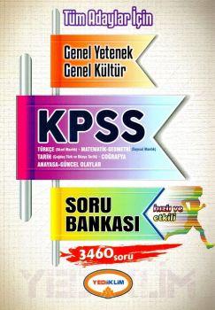 Yediiklim KPSS Genel Yetenek Genel Kültür Soru Bankası
