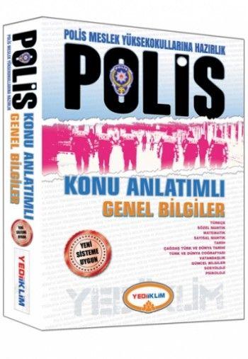 Yediiklim   PMYO Polis Meslek Yüksekokullarına Hazırlık Konu Anlatımlı Genel Bilgiler