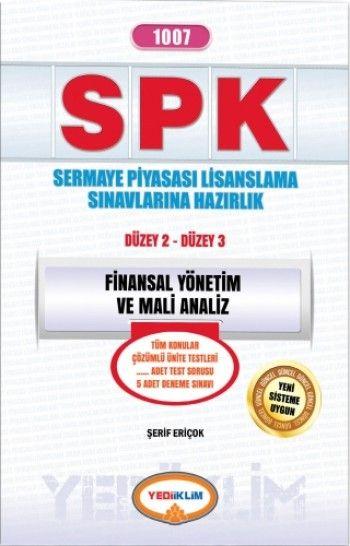 Yediiklim   SPK Finansal Yönetim ve Mali Analiz