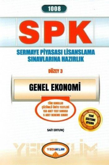 Yediiklim   SPK Genel Ekonomi
