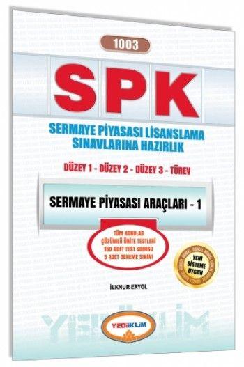 Yediiklim   SPK Sermaye Piyasası Araçları - 1