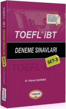 Yediiklim TOEFL İBT Deneme Sınavları Set 3