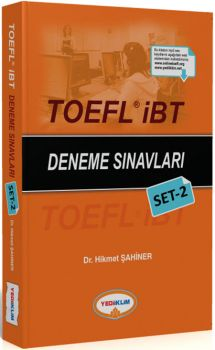Yediiklim TOEFL İBT Deneme Sınavları Set 2