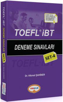 Yediiklim TOEFL İBT Deneme Sınavları Set 4