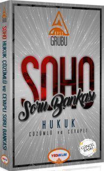 Yediiklim Yayınları KPSS A Grubu Soho Hukuk Soru Bankası Çözümlü ve Cevaplı