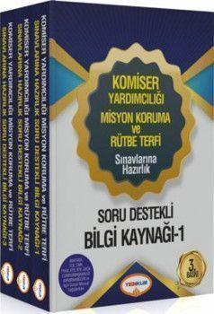Yediiklim Yayınları Komiser Yardımcılığı Misyon Koruma ve Rütbe Terfi Sınavlarına Hazırlık Soru Destekli Bilgi Kaynağı