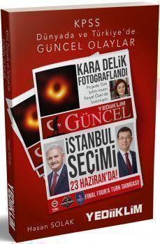 Yediiklim Yayınları KPSS Dünyada ve Türkiyede Güncel Olaylar