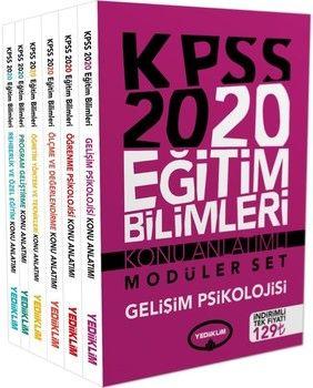 Yediiklim Yayınları 2020 KPSS Eğitim Bilimleri Konu Anlatımlı Modüler Set
