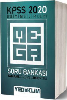Yediiklim Yayınları 2020 KPSS Eğitim Bilimleri Mega Tamamı Çözümlü Soru Bankası