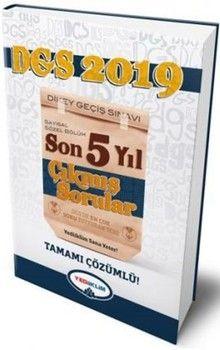 Yediiklim Yayınları2019 DGS Sayısal Sözel Bölüm Tamamı Çözümlü Son 5 Yıl Çıkmış Sorular