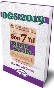 Yediiklim Yayınları2019 DGS Tamamı Çözümlü Son 7 Yıl Çıkmış Sorular