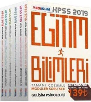 Yediiklim Yayınları 2019 KPSS Eğitim Bilimleri Tamamı Çözümlü Modüler Soru Bankası