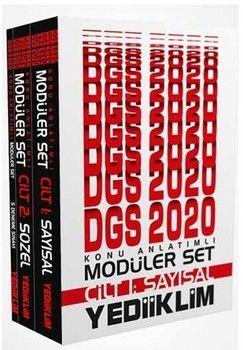 Yediiklim Yayınları 2020 DGS Sayısal Sözel Konu Anlatımlı Modüler Set