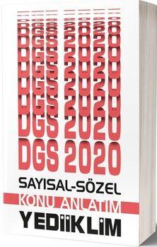 Yediiklim Yayınları 2020 DGS Sayısal Sözel Bölüm Konu Anlatım