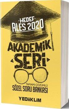 Yediiklim Yayınları 2020 ALES Sözel Tamamı Çözümlü Soru Bankası Akademik Seri