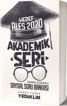 Yediiklim Yayınları 2020 ALES Sayısal Tamamı Çözümlü Soru Bankası Akademik Seri