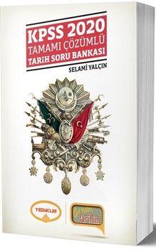 Yediiklim Yayınları 2020 KPSS Benim Tarihim Tamamı Çözümlü Soru Bankası
