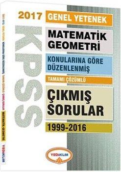 Yediiklim Yayınları KPSS Matematik-Geometri 1999-2016 Çıkmış Sorular