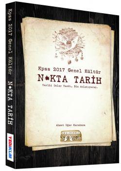Yediiklim Yayınları 2017 KPSS Genel Kültür Nokta Tarih Konu Anlatım