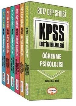 Yediiklim Yayınları 2017 KPSS Eğitim Bilimleri Konu Anlatımlı Cep Serisi 6 Kitap Takım
