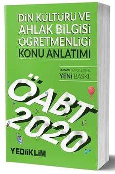 Yediiklim Yayınları 2020 KPSS ÖABT Din Kültürü ve Ahlak Bilgisi Öğretmenliği Konu Anlatımı