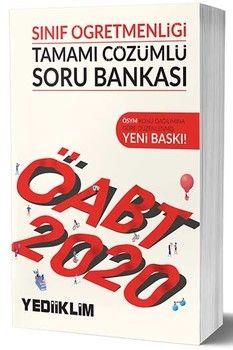 Yediiklim Yayınları 2020 ÖABT Sınıf Öğretmenliği Tamamı Çözümlü Soru Bankası