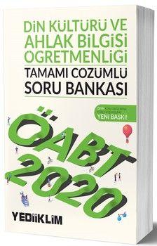 Yediiklim Yayınları 2020 ÖABT Din Kültürü ve Ahlak Bilgisi Öğretmenliği Tamamı Çözümlü Soru Bankası