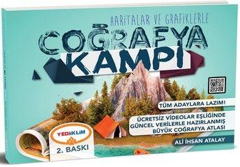 Yediiklim Yayınları Haritalar ve Grafiklerle Coğrafya Kampı