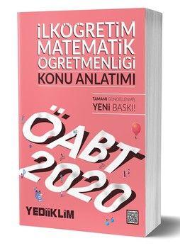 Yediiklim Yayınları 2020 ÖABT İlköğretim Matematik Öğretmenliği Konu Anlatımı