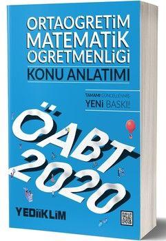 Yediiklim Yayınları 2020 ÖABT Ortaöğretim Matematik Öğretmenliği Konu Anlatımı