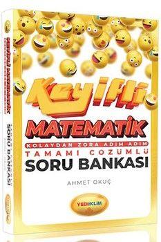 Yediiklim Yayınları Keyifli Matematik Kolaydan Zora Adım Adım Tamamı Çözümlü Soru Bankası