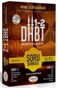 Yediiklim Yayınları DHBT Din Hizmetleri Alan Bilgisi 1 2 Soru Bankası