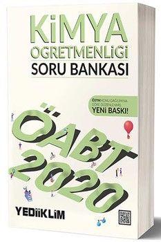 Yediiklim Yayınları 2020 ÖABT Kimya Öğretmenliği Soru Bankası
