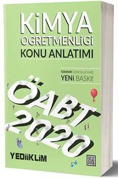 Yediiklim Yayınları 2020 ÖABT Kimya Öğretmenliği Konu Anlatımı